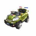 Dark Green Battery Operated Kids Car