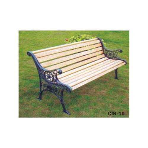 5x5 3 Seater Wooden Park Bench