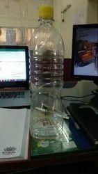 1 Litre Plastic 1000ml Round Shape Bottle