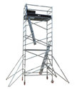 2 SSAFE Single Width Aluminum Scaffolding