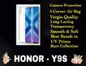 Silicon Homor Y9s Transparent Mobile Back Cover