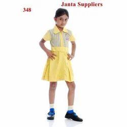Yellow Cotton School Uniforms
