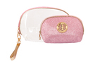 Cosmetic Pink Color Toiletry Pouches