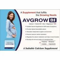 Calcium Supplement with Vitamin D3 Tablets