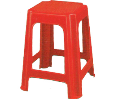 Sensational Red Nilkamal Stool Stl 07 Deepak Printers Traders Id Cjindustries Chair Design For Home Cjindustriesco