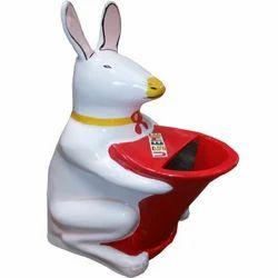 Rabbit Shape Dustbin