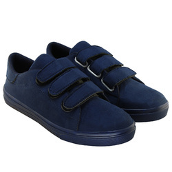 Bellatoes Blue Women Suede Uniform Shoes, Size: 36-41