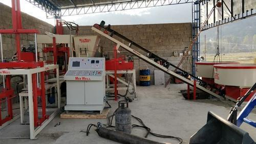 Mix Well Automatic Fly Ash Brick Machine, 1500-2000 Per Hour