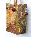 Indian Vintage Women's Banjara Embroidery Shoulder Bag