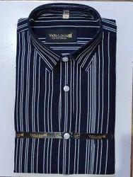 Mens Cotton Collar Neck Shirt, Size: Size: M, L & XL