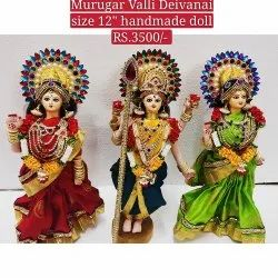 God Murugan Doll