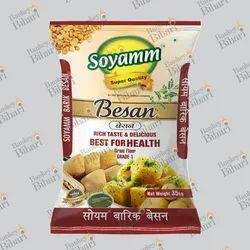 Bankey Bihari Multicolor BOPP Laminated Besan Packaging Bags, Thickness: 100-300 Micron, Storage Capacity: 5-35 Kg