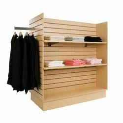 Garment Gondola In MDF Board