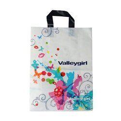 White Printed Poly Bag