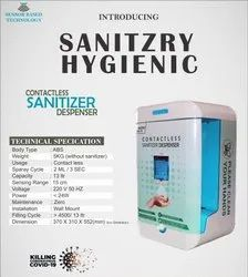 Automatic Hand Sanitizer Dispenser.