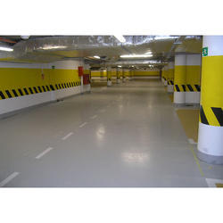 Parking Lot Epoxy Flooring