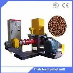 FLOTING FISH FEED AUTOMATIC MACHINE
