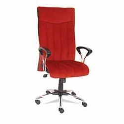 Office Revolving Chair, Red