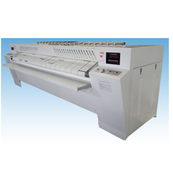 Heated Chest and Return Feed Flat Work Ironer