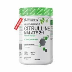 Citrulline Malate 2:1 Unflavored 200 gm