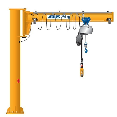 Jib Crane Usage : Jib cranes view specifications details of