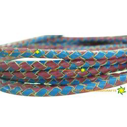 Stylish Braided Leather Cords