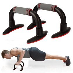 BLACK Push Up Bar Home Gym Exercise Fitness Equipment