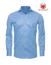 Regular Fit Formal and Party Wear Mens Plain Shirt