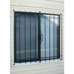 Interior Steel Window Grill, Rectangle, Material Grade: MS121