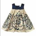 Girl Blue Print Dress