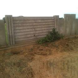 8 Feet Concrete Boundary Walls