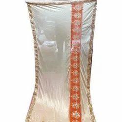 Party Wear Ladies Banarasi Silk Saree, Packaging Type: Packet