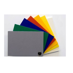 Green And Black Rigid PVC Sheets