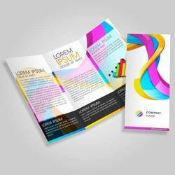 Paper Brochure Printing Services for Advertising, Location: Pan India