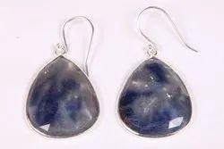 Blue Sapphire Earring