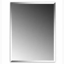 Glossy Glass Rectangle Plain Mirror