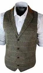 Cotton Men Designer Waistcoat