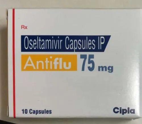 Antiflu(Oseltamivir75mg), Cipla Ltd, Prescription, Rs 572 /strip | ID:  20652356912