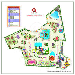 3 Acre Plan Layout Design