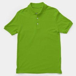 Green Cotton Customized Promotional T-Shirt