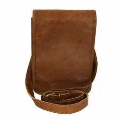 Plain Slim Vintage Handmade Genuine Leather Handbag
