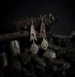 Oxidized Earrings OXE 61