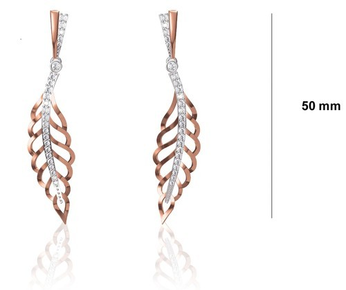 Ravirat Earrings, Size: 50mm