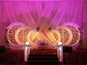 Wedding Pink Theme Decoration Service