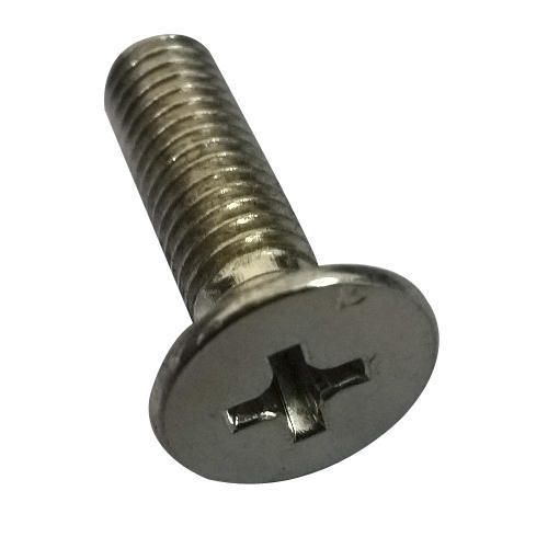 MS Cross Head Screw, Size: 3.5 Mm
