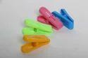 Multicolor Plastic Cloth Clips