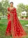 Multi Work Latest Designer Wedding Sarees