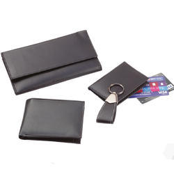 4- in-1 Set Leather NDM Leatherite Black