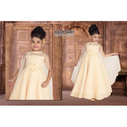 Sleeveless Kids Gown