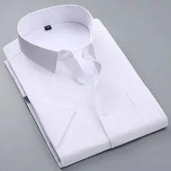 Collar Neck Mens Plain Shirt